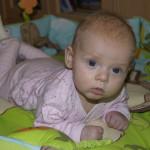 Trzeci miesiąc życia dziecka