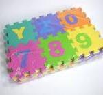 Rakotwórcze puzzle piankowe dla dzieci