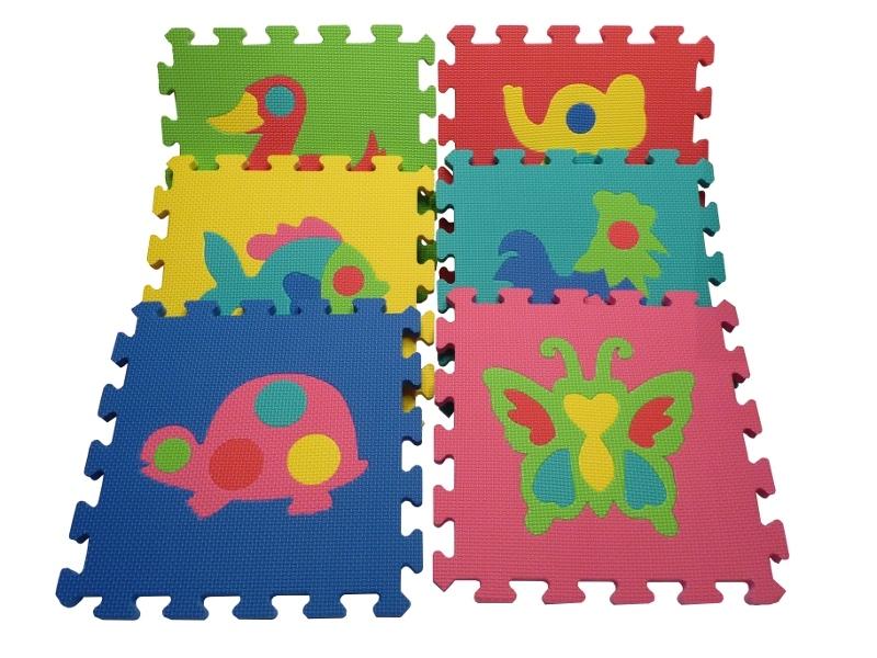 Rakotwórcze Puzzle Piankowe Dla Dzieci Sosrodzicepl