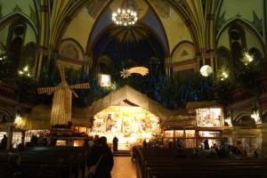 Żywa szopka kościół garnizonowy