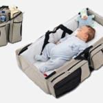3 w 1: torba, miejsce do przewijania i odpoczynku