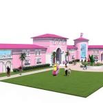 Dom Barbie gotowy dla zwiedzających