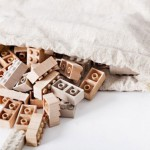 Drewniane klocki Lego