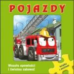 """Książeczka z puzzlami """"Pojazdy"""" Wilga"""