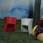 Trioli: krzesło-bujak