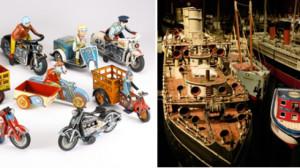 Na zdjęciu kolekcja zabawek sprzedana za 194 tysiące dolarów