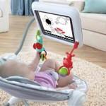 Leżaczek z iPadem
