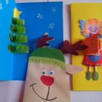 3 pomysły na kartki świąteczne