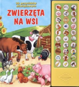 Książeczka z 30 przyciskami Wilga, cena około 45 złotych.