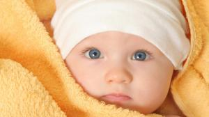 cute baby grey eye hd wallpaper