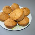 Muffinki bez mleka