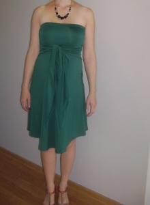 sukienkaMytummy szmaragdowa2