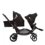 Wózek dla dwójki dzieci, rok po roku