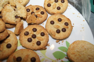 Ciasteczka przez maszynkę - de facto nie przez maszynkę ;)