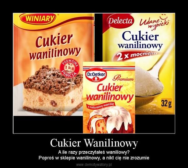 wanilinowy