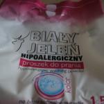 Proszek do prania hipoalergiczny Biały Jeleń