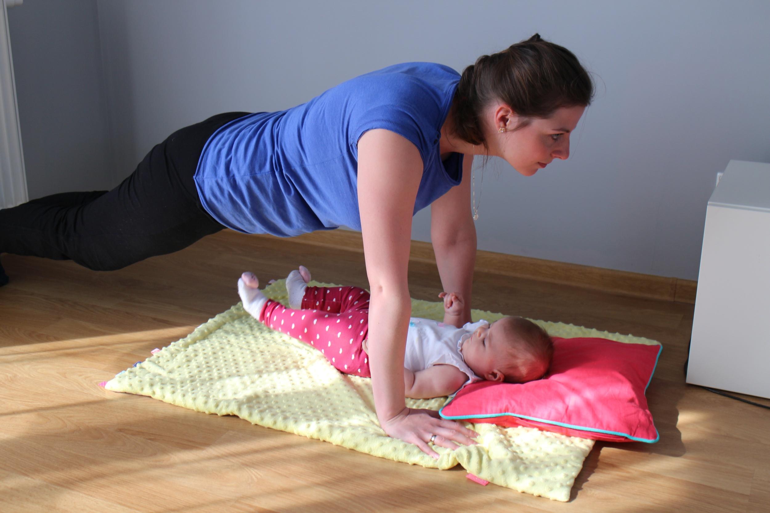 ćwiczenia dla mamy