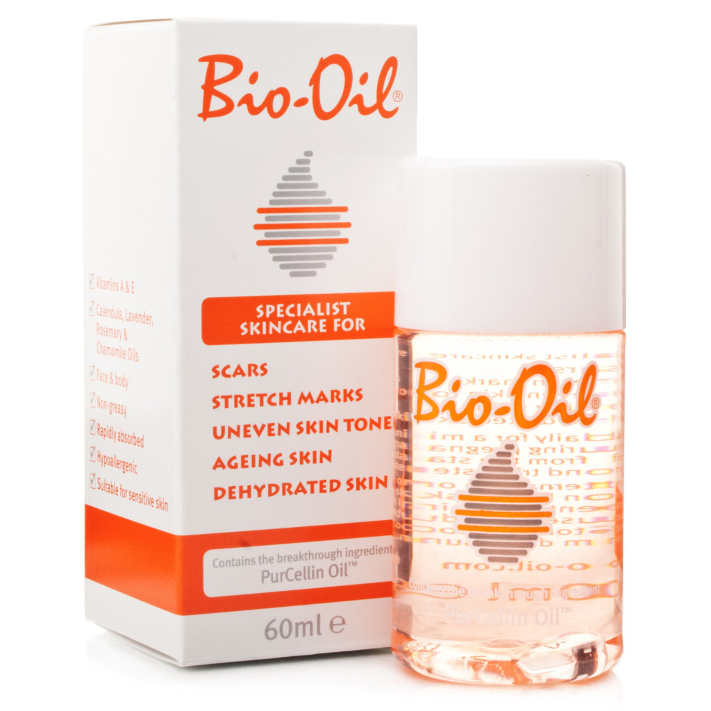 Recently, I burned my neck with a curling rod (not my finest moment), and immediately I knew the bubbling burn was going to settle into a gnarly scar. Then, I remembered I had a bottle of Bio-Oil.