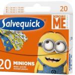 Plasterki Salvequick Minionki – pierwsza pomoc w przypadku skaleczeń
