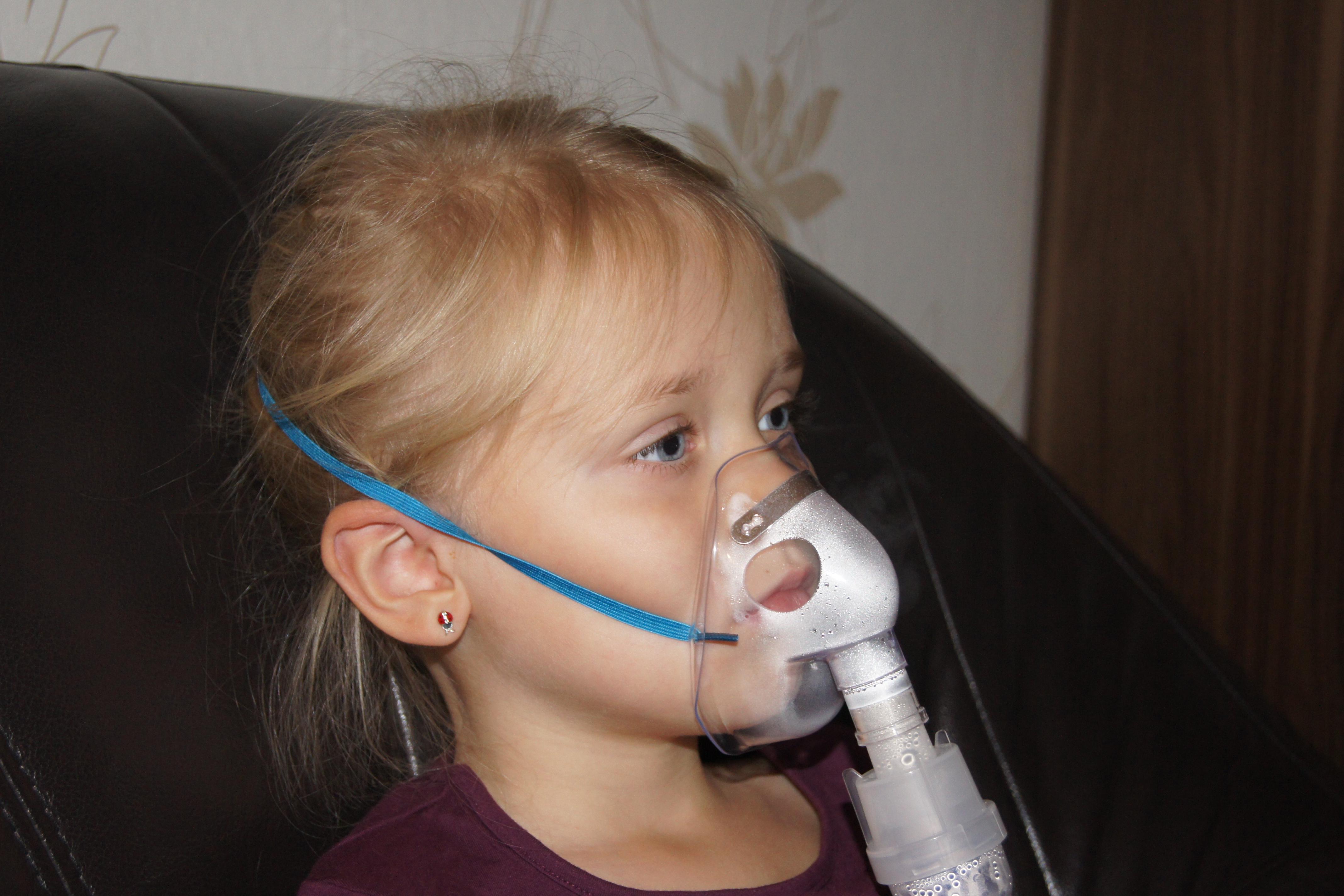 Nebulizator w użyciu :)