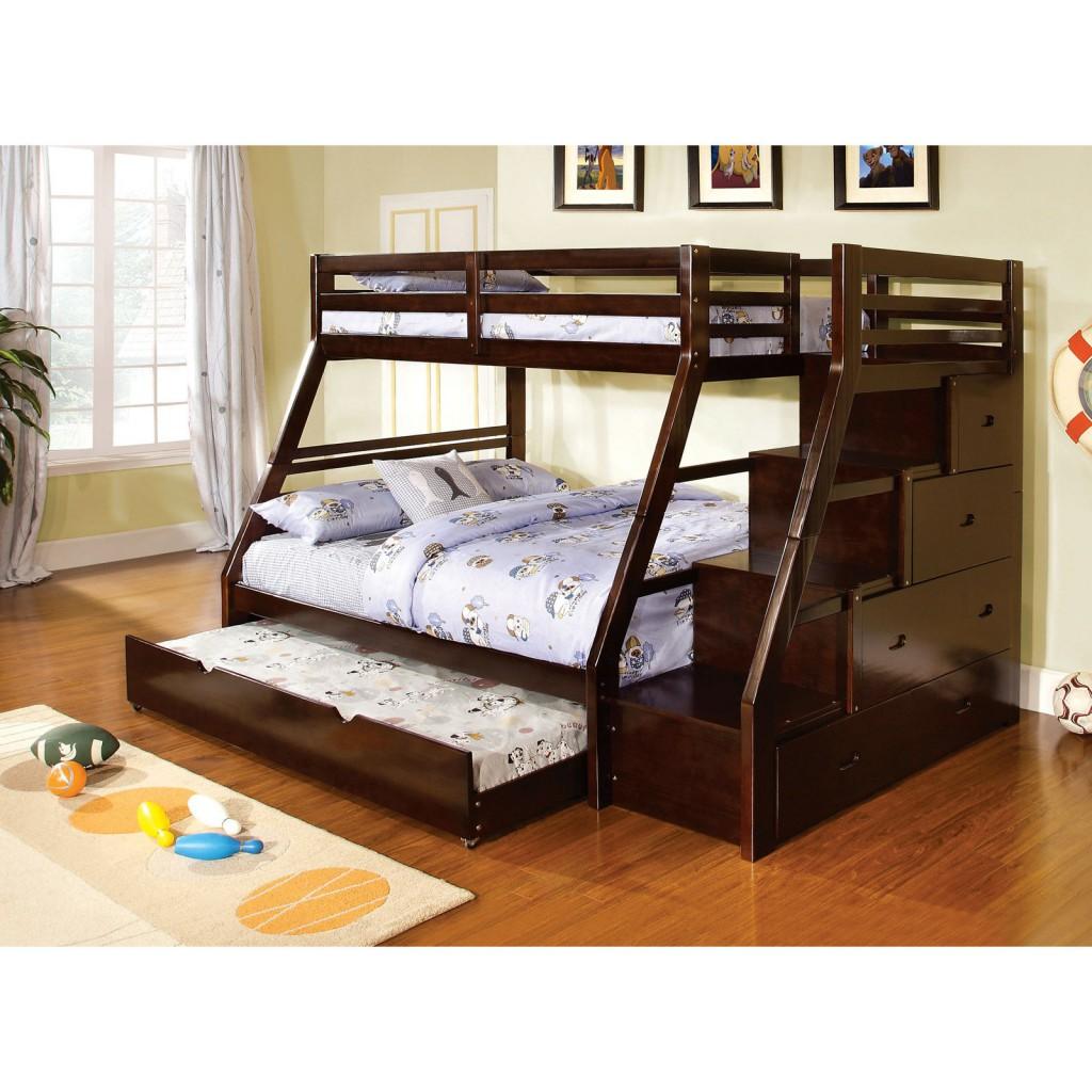 łóżko dla trójki dzieci