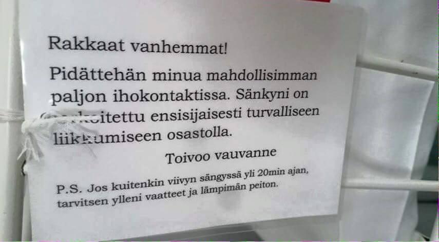ogłoszenie fiński szpital