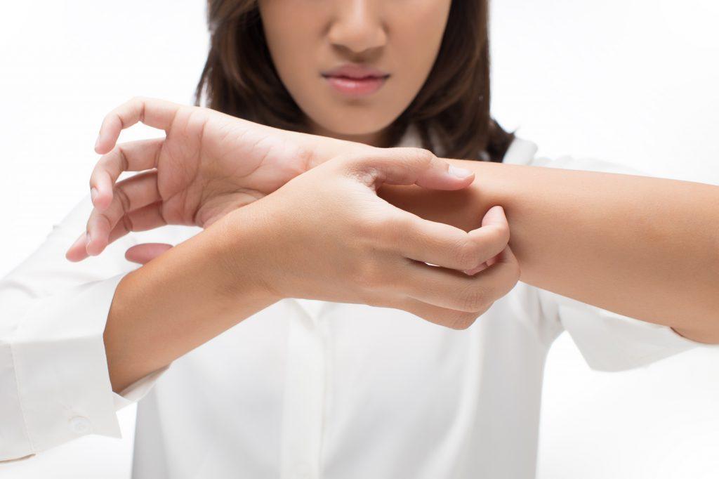 czy swędzenie skóry może być objawem ciąży