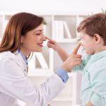 Skrzywiona przegroda nosowa u dzieci