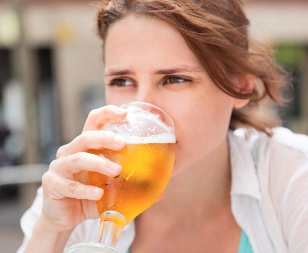 picie piwa zeero w ciąży