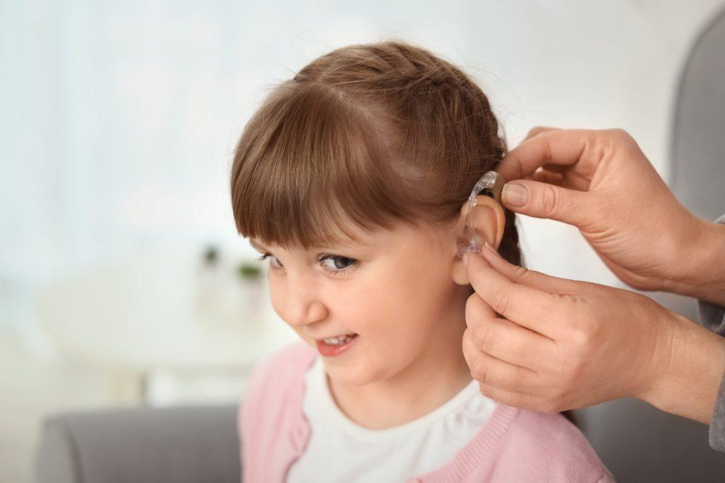badanie słuchu u dziecka