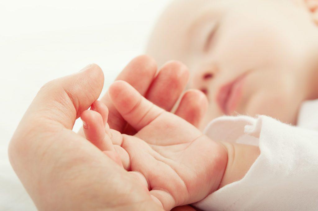 odruchy niemowlęce