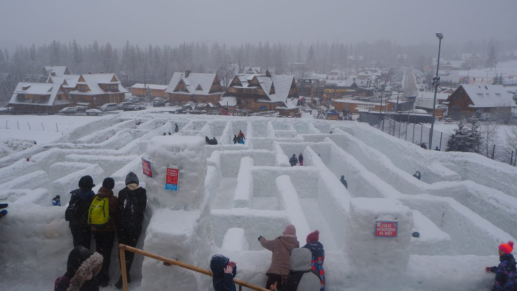 Snowlandia Śnieżny Labirynt