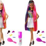 Barbie tęczowe włosy – czy warto?