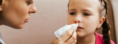 Pierwsza pomoc w krwotoku z nosa