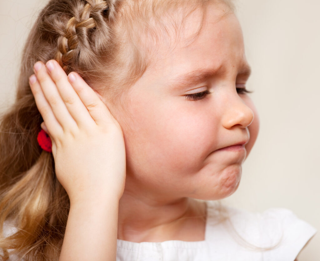 ciało obce w uchu