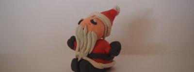 Jak zrobić Mikołaja z plasteliny?