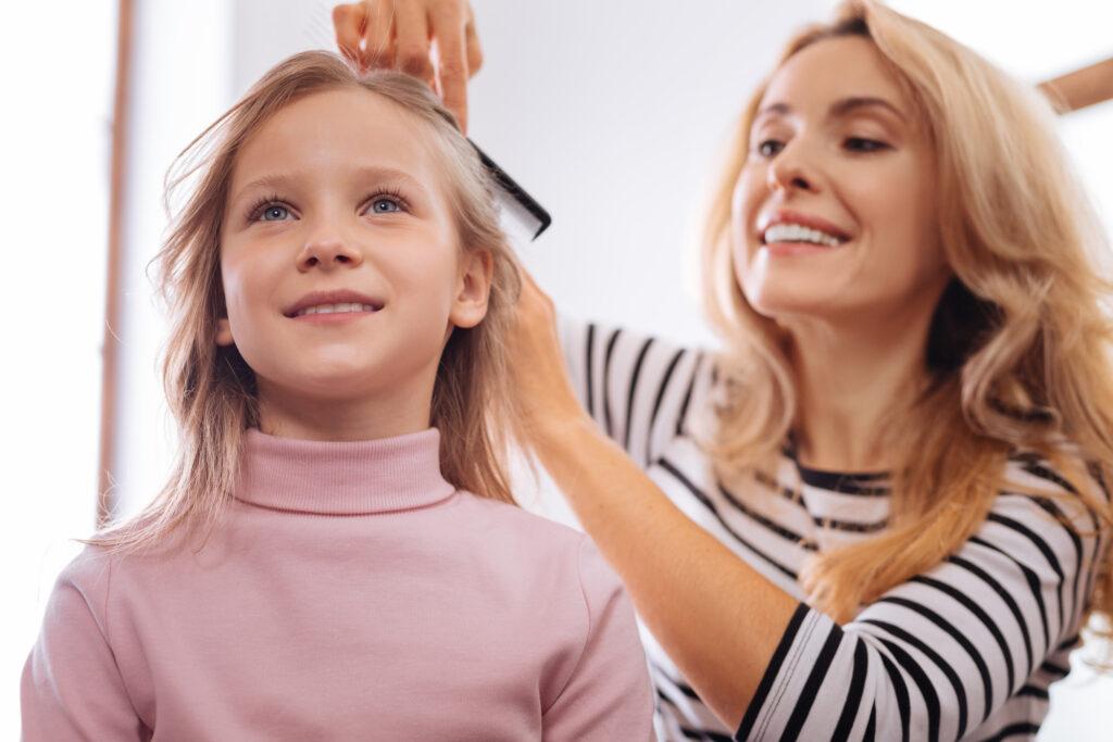 cienkie włosy u dziecka