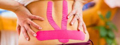 Kinesiotaping w ciąży, czyli taśmy kinezjologiczne na ból